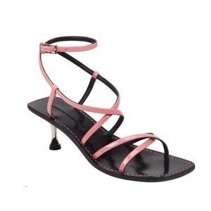 NEW Sigerson Morrison Strappy Square Toe Sandal
